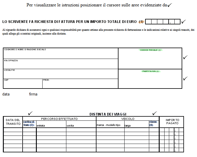 See How To Fill In The Invoice Request Forms Nice Design