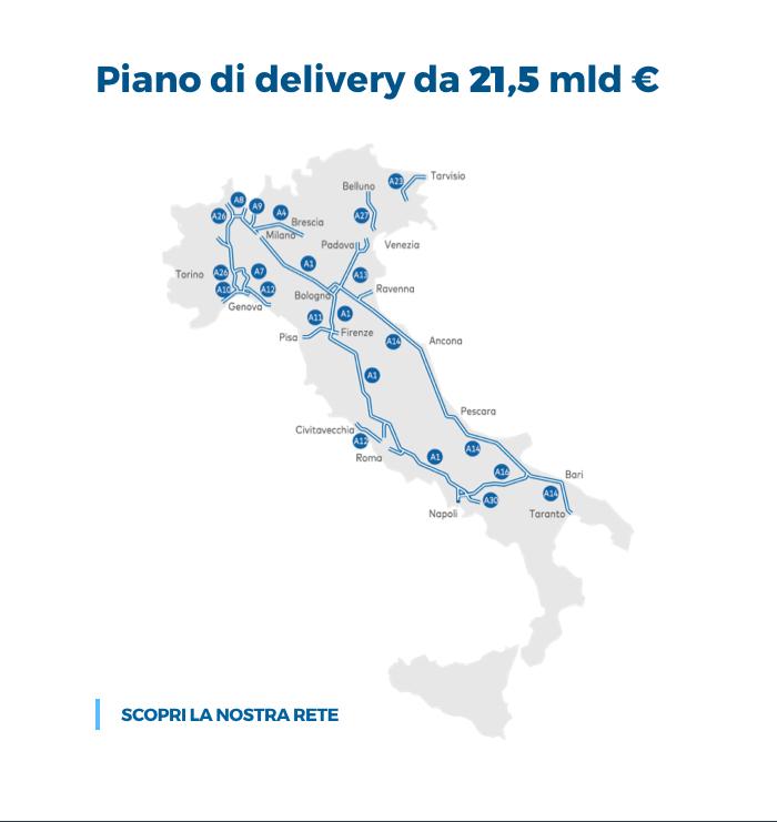 Italia Cartina Autostradale.La Rete Autostrade Per L Italia